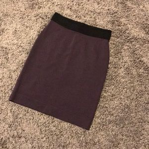 BCBGMaxAzria purple skirt